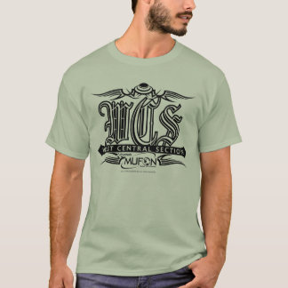 Arkansas Mufon WCS black tattoo design T-Shirt
