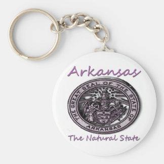 Arkansas Natural State Seal Key Ring