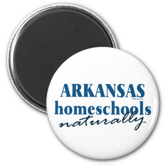 Arkansas Naturally 6 Cm Round Magnet