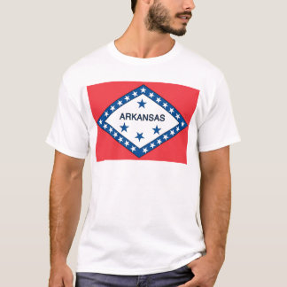 Arkansas  Official State Flag T-Shirt