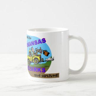 Arkansas/Ozark Visitor/Survivor Basic White Mug