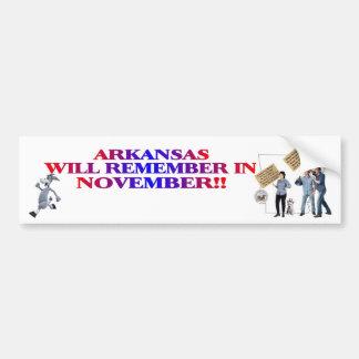 Arkansas - Return Congress To The People!! Bumper Sticker