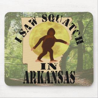 Arkansas Sasquatch Bigfoot Spotter - I Saw Him Mouse Pad