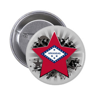 Arkansas Star 6 Cm Round Badge