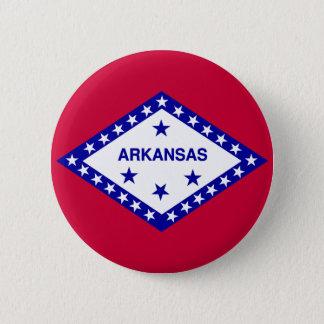 Arkansas State Flag 6 Cm Round Badge