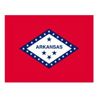 Arkansas State Flag Design Postcard