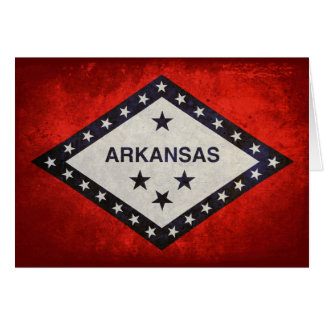 Arkansas State Flag Note Card