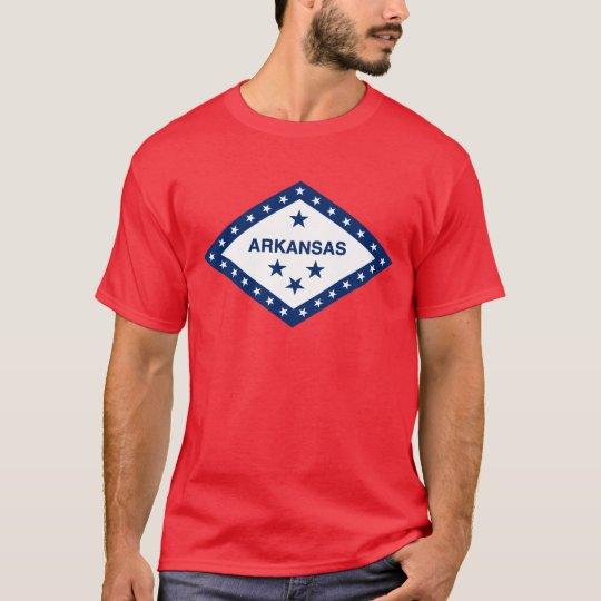 Arkansas State Flag (On Red) T-Shirt