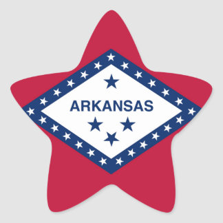 Arkansas State Flag Stickers