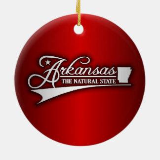 Arkansas State of Mine Christmas Ornament