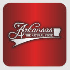 Arkansas State of Mine Square Sticker