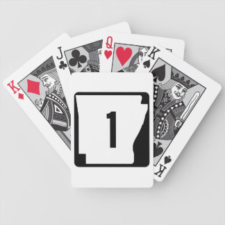 Arkansas State Route 1 Poker Cards