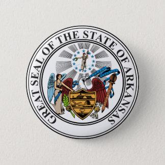 Arkansas State Seal 6 Cm Round Badge