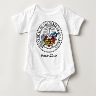 Arkansas State Seal and Motto Baby Bodysuit