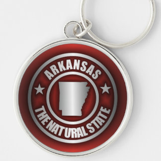 """Arkansas Steel"" Keychains (Red)"