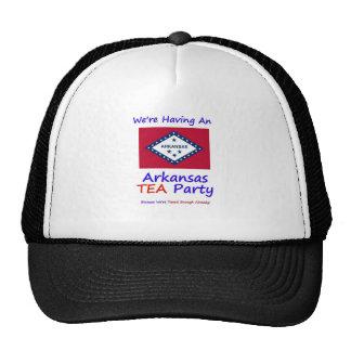 Arkansas TEA Party - We re Taxed Enough Already Mesh Hat