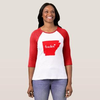 Arkansas Teacher Tshirt (Red)
