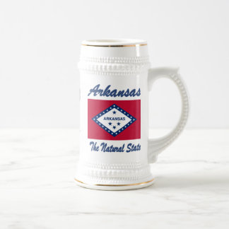 Arkansas The Natural State Beer Stein