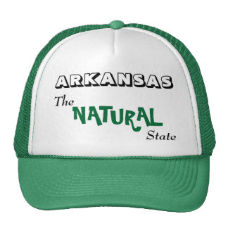 Arkansas - The Natural State Cap