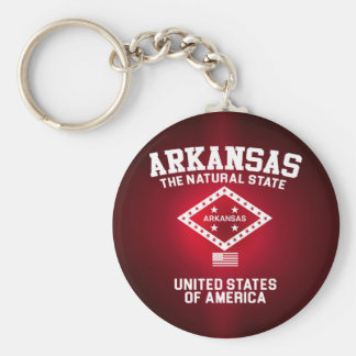 Arkansas The Natural State Key Ring