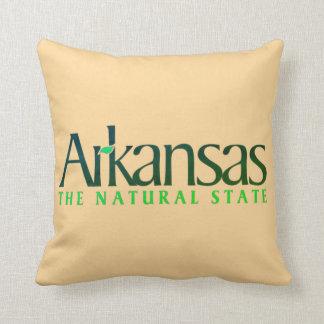 Arkansas The Nature State Throw Pillow