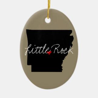 Arkansas Town Christmas Ornament