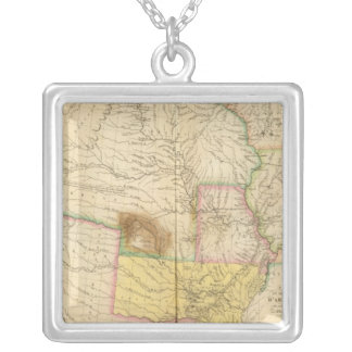 Arkansas US Silver Plated Necklace