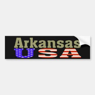 Arkansas USA! Bumper Sticker