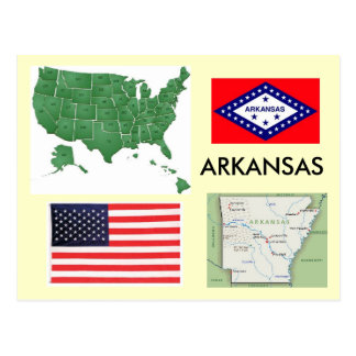 Arkansas, USA Postcard