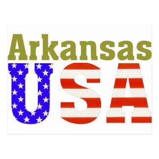 Arkansas USA! Postcard