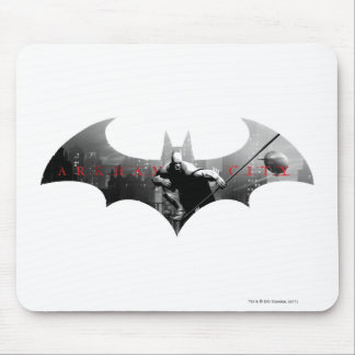 Arkham City Bat Symbol Mouse Mat