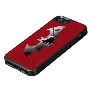 Arkham City Bat Symbol OtterBox iPhone 5/5s/SE Case