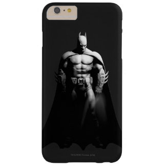 Arkham City   Batman Black and White Wide Pose Barely There iPhone 6 Plus Case