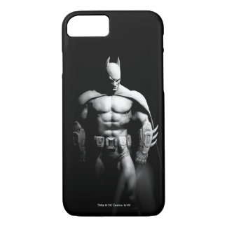 Arkham City   Batman Black and White Wide Pose iPhone 7 Case