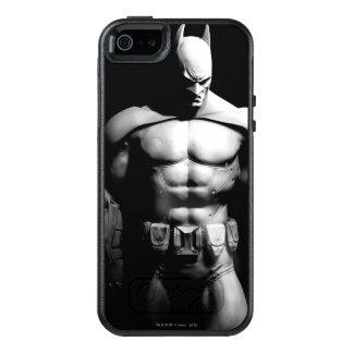 Arkham City   Batman Black and White Wide Pose OtterBox iPhone 5/5s/SE Case