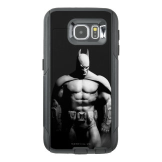 Arkham City | Batman Black and White Wide Pose OtterBox Samsung Galaxy S6 Case