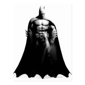 Arkham City | Batman Black and White Wide Pose Postcard
