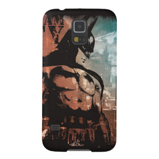 Arkham City Batman mixed media Galaxy S5 Covers
