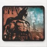 Arkham City Batman mixed media Mouse Pads