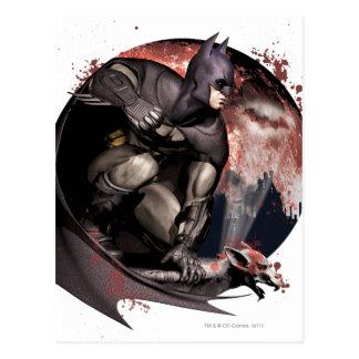 Arkham City Batman Moon Postcards