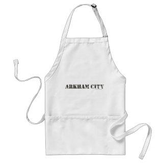 Arkham City Distressed Adult Apron