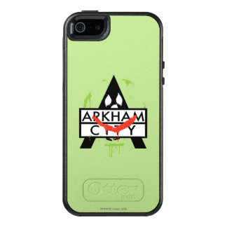 Arkham City Icon w/ Joker marks 2 OtterBox iPhone 5/5s/SE Case