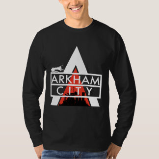 Arkham City Logo White T-Shirt