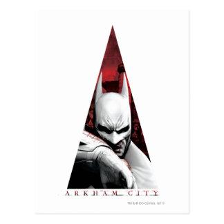 Arkham City Triangle Postcard