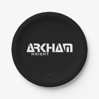 Arkham Knight Graphic 7 Inch Paper Plate