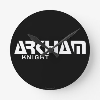 Arkham Knight Graphic Round Clock