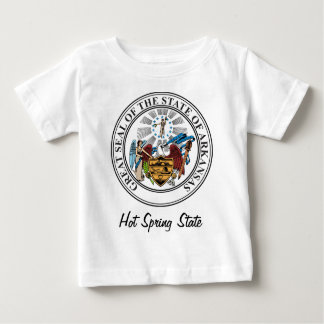 Arkinsas State Seal and Motto Baby T-Shirt