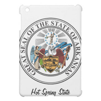 Arkinsas State Seal and Motto iPad Mini Cover