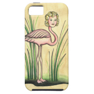 Arlene Flamingo Case For The iPhone 5