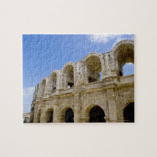 Arles, France, Exterior of the Arles antique 2 Jigsaw Puzzle